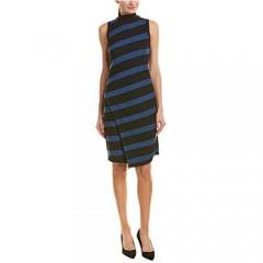 Anne Klein Women's Sleeveless Mock Neck Sweater Dress