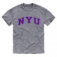 Ivysport Short Sleeve Adult Grey T-Shirt with Classic Arch Logo