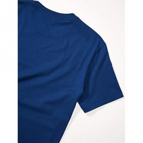 Lacoste Men's Short Sleeve Colorblocked Stripe T-Shirt