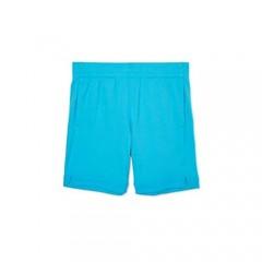 Girl's Active Short (Small 6/6x Aqua Blue)