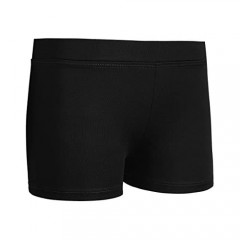 Kaerm Kids Girls Soild Athletic Booty Short Shorts Gymnastics Hot Pants Sports Workout Running Dance Activewear