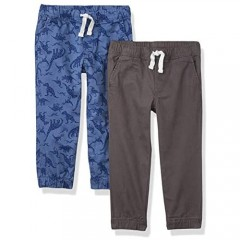 Essentials Boys' Pull-On Woven Jogger Pants