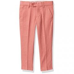 Isaac Mizrahi Boys' Slim Fit Linen Pants