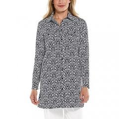 Coolibar UPF 50+ Women's Santorini Tunic Shirt - Sun Protective